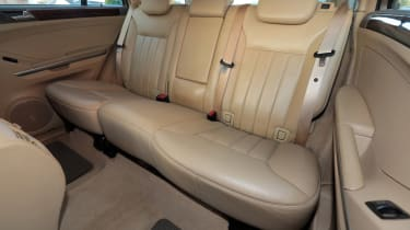 Used Mercedes M-Class - rear seats