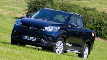 SsangYong Musso Rebel - front static