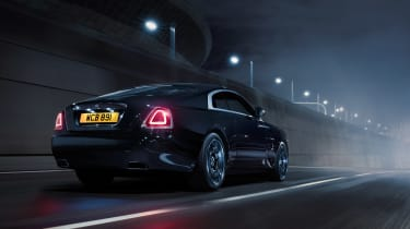 Rolls Royce Black Badge Wraith rear