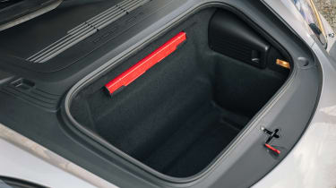 Porsche Boxster 25 Years - front boot
