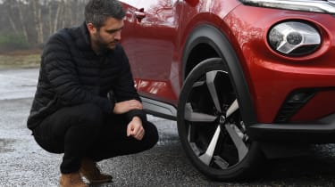 Nissan Juke Tekna: long-term test review - first report wheel