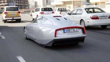 VW XL1 tracking