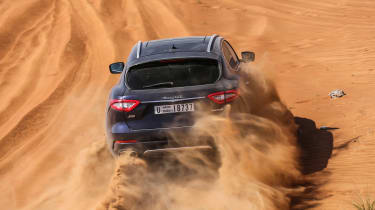 Maserati Levante - rear off-road