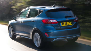 Ford Fiesta Active - rear