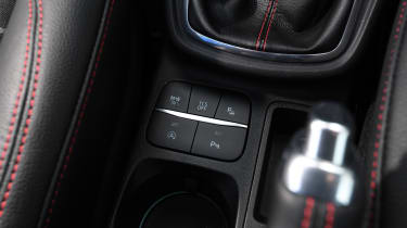 Ford Puma - buttons