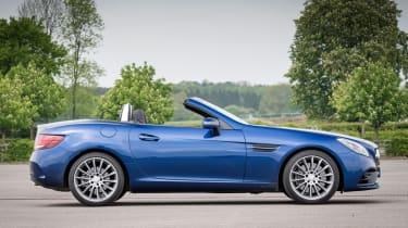 Used Mercedes SLC - side