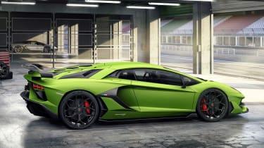 Lamborghini Aventador SVJ - side