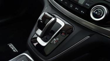 Honda CR-V long-termer gearstick