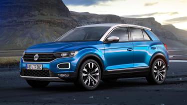 Volkswagen T-ROC - front static