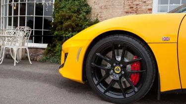 Lotus Evora 400 wheel