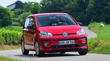 Volkswagen Up Practicality Boot Size Dimensions Luggage