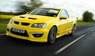 Vauxhall Maloo front action