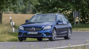 Mercedes C-Class Estate - front conering