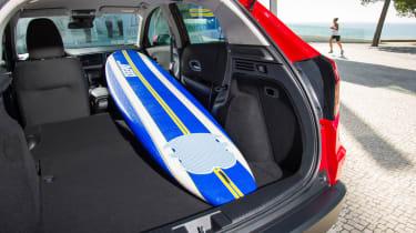 Honda HR-V - seats folded