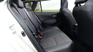 Toyota Corolla Touring - rear seats