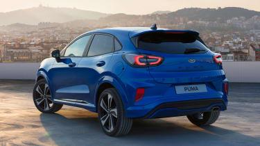 Ford Puma - rear static