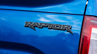 Ford F-150 Raptor pick-up truck - badge