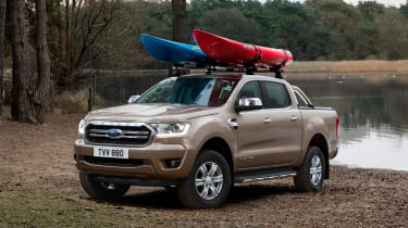 Ford Ranger Limited - front static