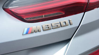 BMW M850i xDrive Gran Coupe - M850i badge