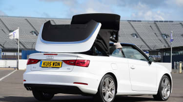 Audi A3 Convertible roof mechanism