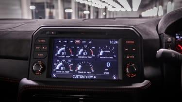 Nissan GT-R NISMO 2017 - infotainment