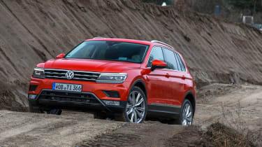 Volkswagen Tiguan 2016 - front quarter