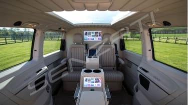 Senzati Mercedes Jet Class interior