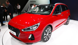 Hyundai i30 Tourer Geneva - front
