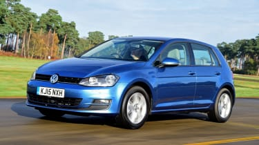 """<p class=""""p1"""">The <span class=""""s1"""">VW Golf</span> is pretty sensible in comparison, but it has similar boot space, while the 2.0 TDI diesel offers the same power as the Cooper D.</p>"""