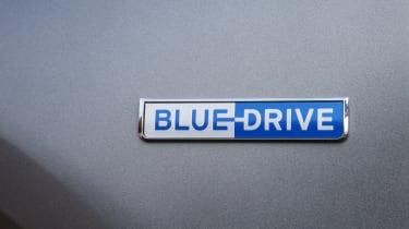 Hyundai NEXO Blue Drive badge