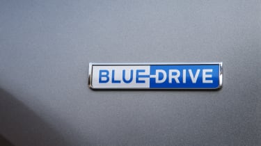 Hyundai NEXO Blue Drive badge