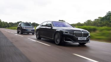 BMW 7 Series vs Range Rover - head-to-head