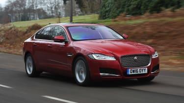 Jaguar XF long term - second report front