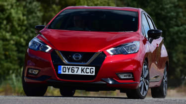 Nissan Micra - front cornering