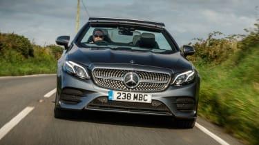 Mercedes E-Class Cabriolet - front