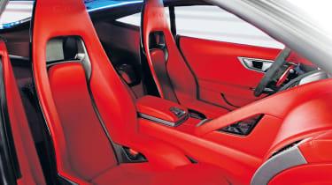 Jaguar C-X16 front seats
