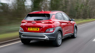 New Hyundai Kona Hybrid 2021 review - rear