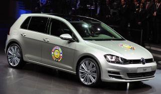 VW Golf front
