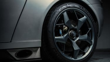 New Ginetta supercar alloy wheel side exhaust