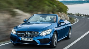 Mercedes C-Class Cabriolet - front cornering