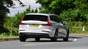 Volvo V60 - rear cornering