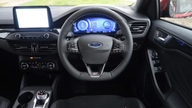 Ford Focus ST automatic - dash