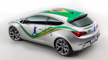 <span>In 2014 Vauxhall attempted to dupe the nation with a special edition Astra Copacabana tied-in with the 2014 FIFA World Cup in Brazil.</span>