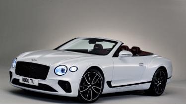 Bentley Continental GTC - studio front roof down