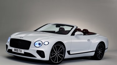 Bentley Continental GTC - studio front roof down