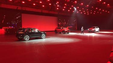 Jaguar E-Pace launch - cars revealed