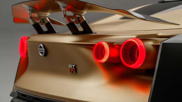 Nissan GT-R50 - taillights