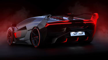 Lamborghini SC18 - rear static
