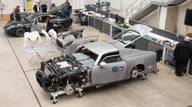 David Brown Automotive shop floor