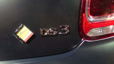 DS 3 hatchback 2016 - DS Performance badge reveal